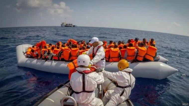 В Ливии у моря спасли 197 незаконных мигрантов