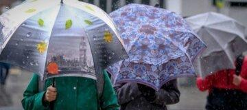 Україну накриють дощі та мокрий сніг