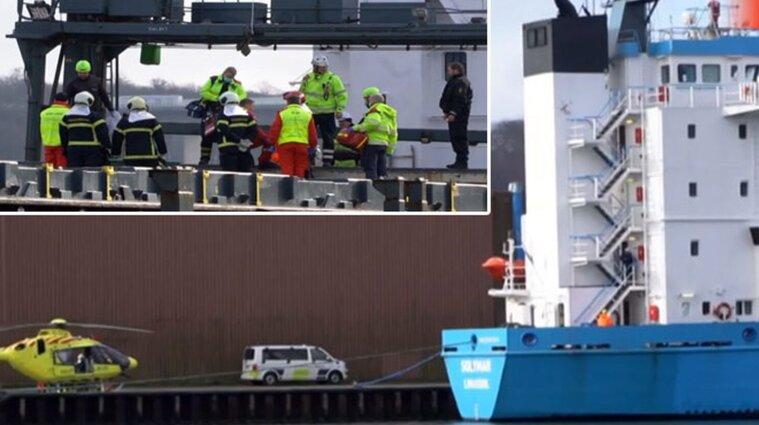 Упала крышка люка: в порту Дании погиб украинский матрос