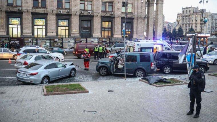 Смертельна ДТП на Хрещатику: водій тверезий, але після операції
