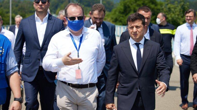 Зеленський у Грузії побував на межі з окупованою Абхазією (фото)