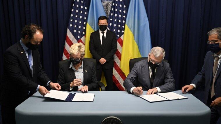 Два документа в энергетической сфере подписали Украина и США