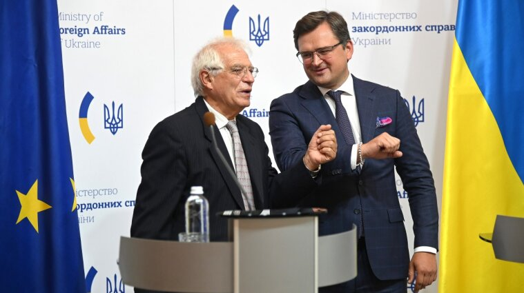 Боррель запевнив, що ЄС незмінно підтримує територіальну цілісність України