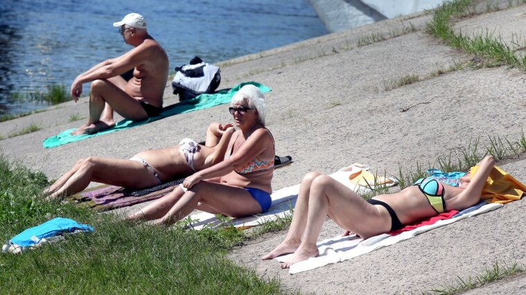 Стало відомо, скільки пляжів Києва готові до літа