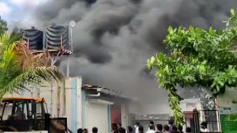 В Индии загорелся химзавод: погибли 18 человек - фото