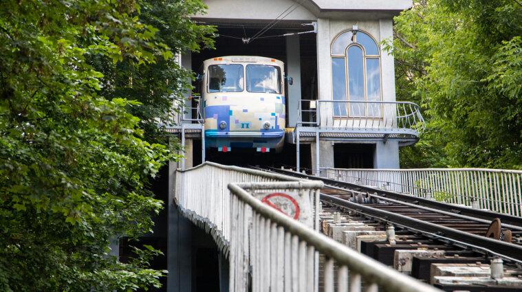 Фуникулер закрыли в Киеве на ремонт