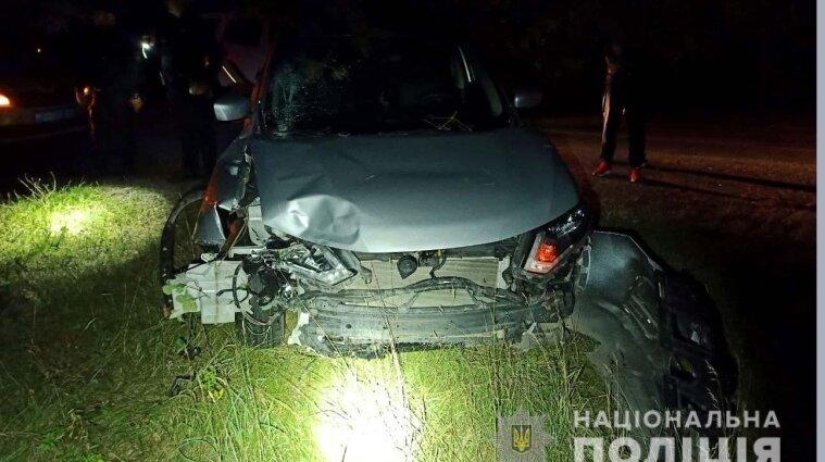 Экс-прокурор на Ровенщине в ДТП убил водителя скутера и убегал от полиции