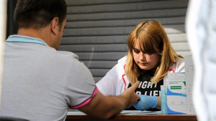 В Киеве будут бесплатно тестировать на вирусный гепатит В и С, ВИЧ и сифилис