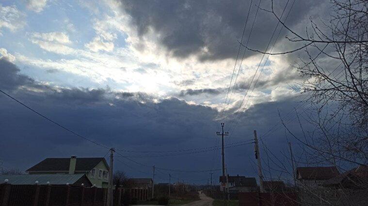 Ухудшение погодных условий ожидается в Украине