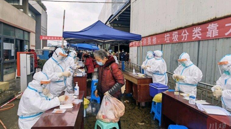 Активна форма COVID-19 у Китаї: зафіксовано нові випадки та високий ступінь зараження