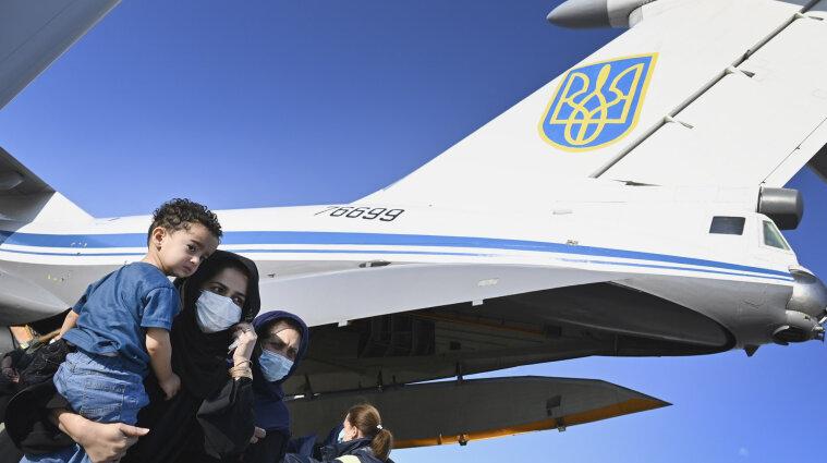 Україна знаходиться в списку лідерів Європи за кількістю евакуйованих людей з Афганістану