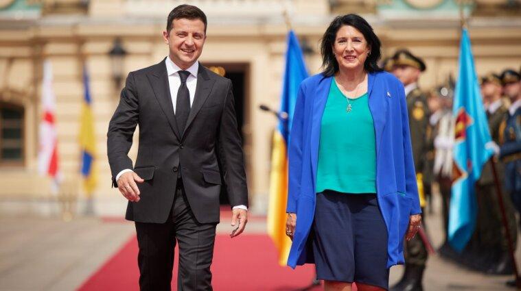 Саакашвили вредит отношениям с Грузией, но встреча Зеленского с Зурабишвили - это хорошо