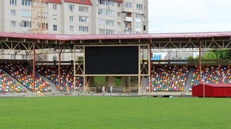 Польща висловила протест через стадіон Шухевича у Тернополі