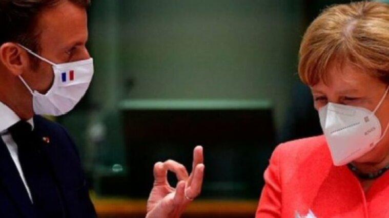 Франція та Німеччина нагадали Путіну про необхідність припинення війни на Донбасі
