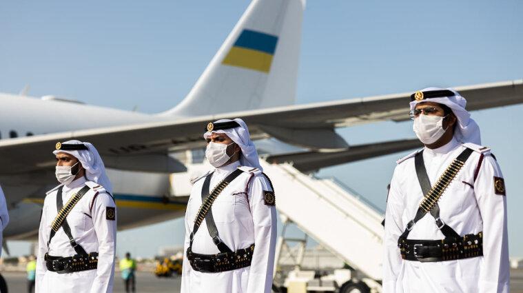 Зеленський пояснив свій візит до Катару