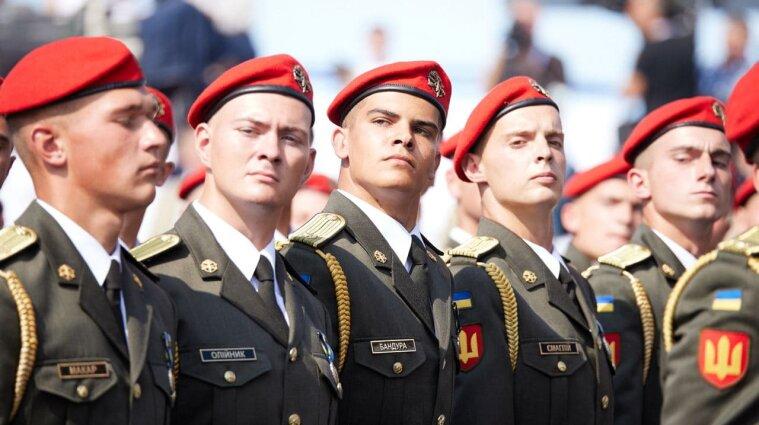 Військовий парад на Хрещатику, як це було: фото і відео