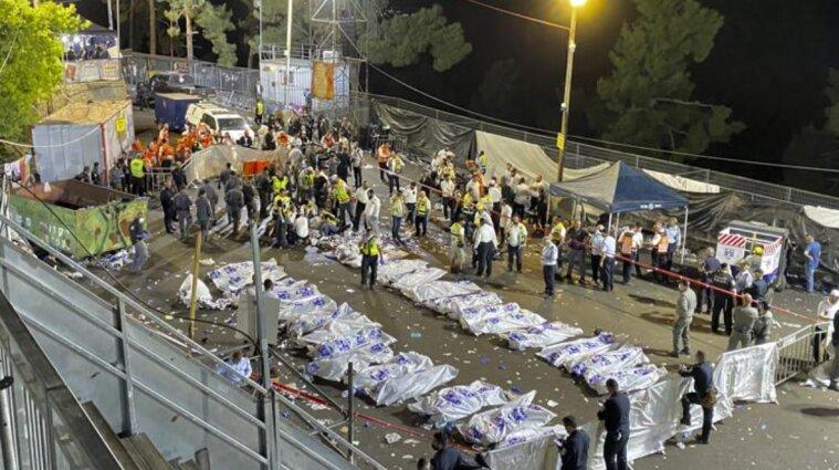 Понад 40 людей загинули під час релігійного свята в Ізраїлі - відео
