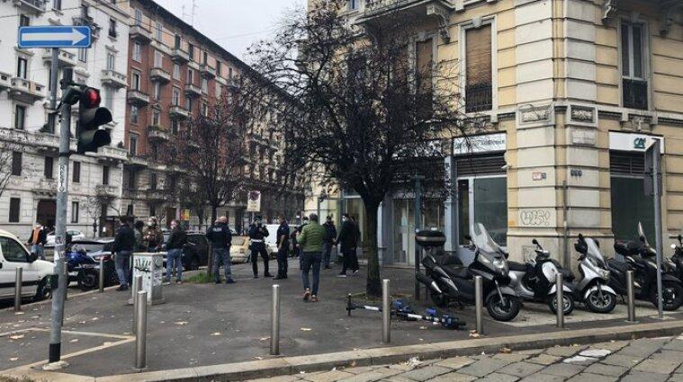 В Мілані грабіжники напали на банк і захопили заручників