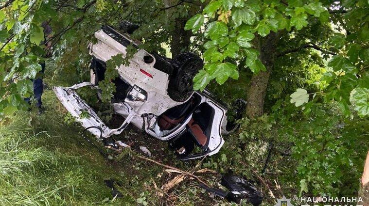 Четверо підлітків постраждали у ДТП в Миколаївській області - фото