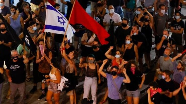 В Ізраїлі пройшли масові протести проти уряду Нетаньягу