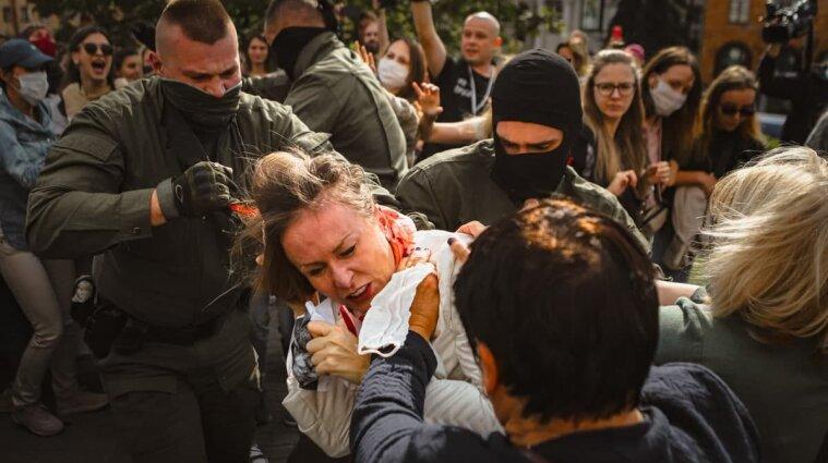 За два дня в Беларуси силовики задержали около 500 протестующих