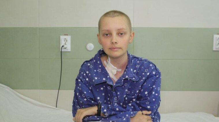 Пересадка костного мозга от неродственного донора: пациентка обрадовалась возможности операции в Украине