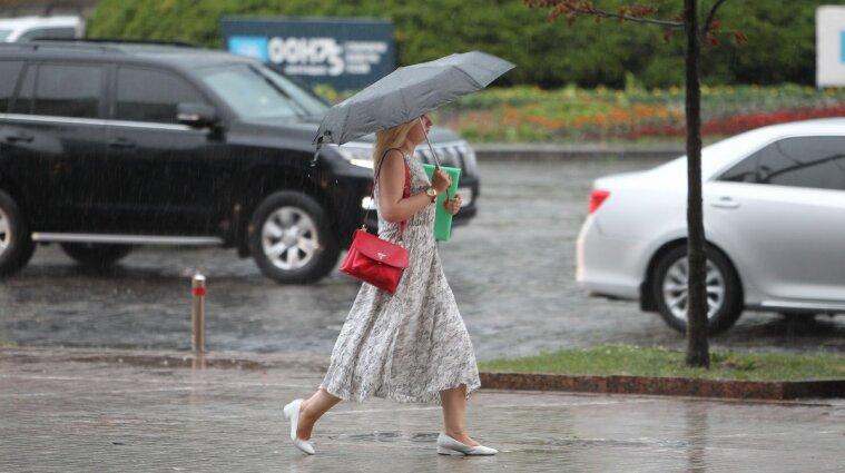 В Україні спостерігатиметься сьогодні спека на Сході та дощі на Заході