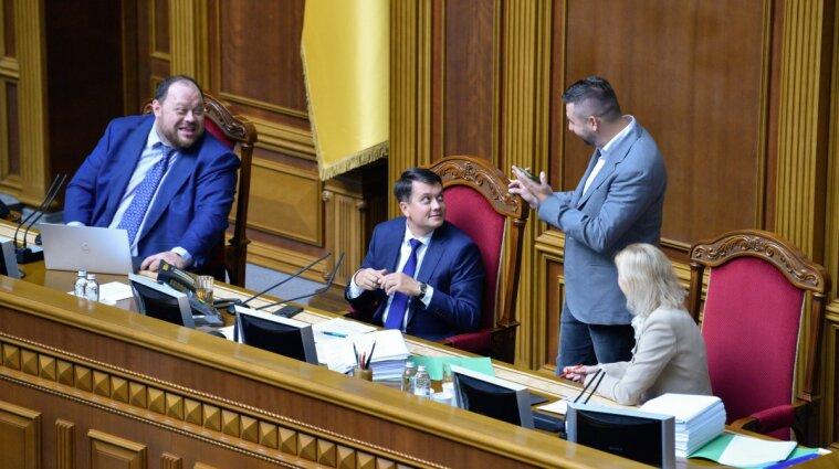 """В """"Слуге народа"""" объяснили, как будет происходить процесс отзыва с должности спикера Разумкова"""