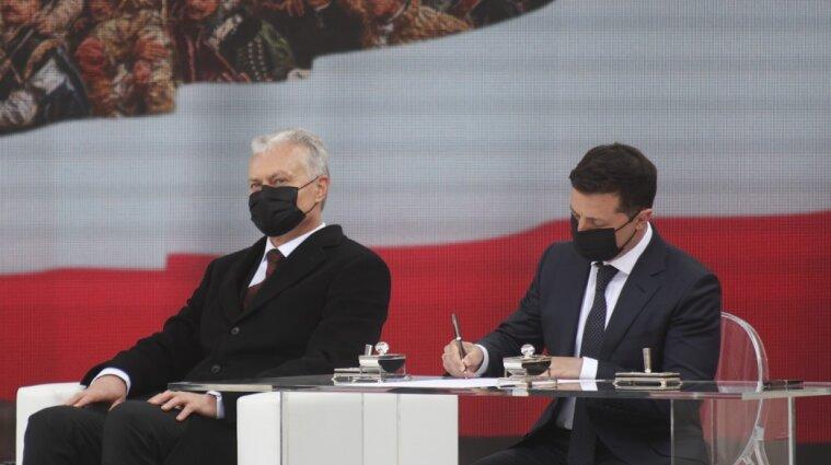 Зеленский подписал декларацию с президентами Польши, Литвы, Латвии и Эстонии