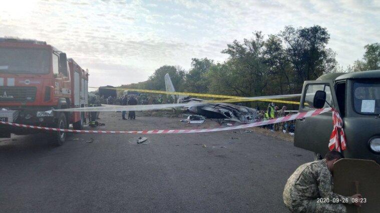 Генпрокуратура завершает расследование крушения самолета под Чугуевом, - Венедиктова