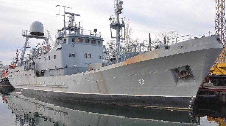В Украине испытывают новейший разведывательный корабль