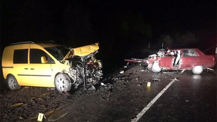 В Хмельницкой области в аварии погибла 67-летняя женщина