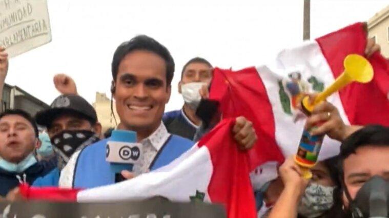 Третього президента за тиждень призначили у Перу
