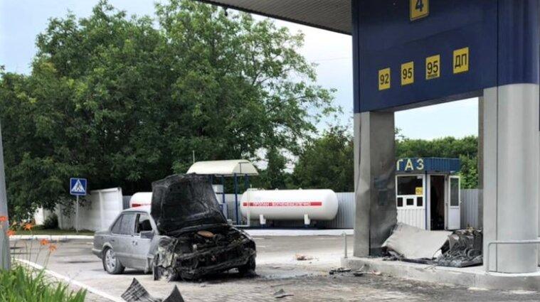 Водитель-наркоман сбил пешехода и влетел в автозаправку - фото