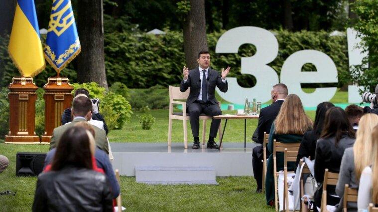 В ОП сообщили место и время пресс-конференции Зеленского