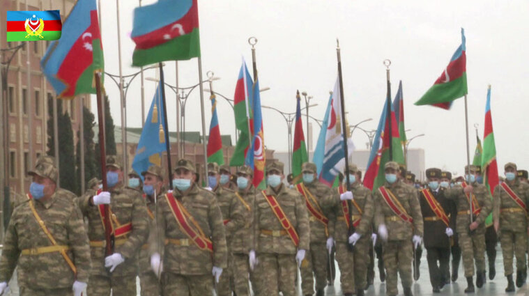 У Баку проведуть військовий парад на честь перемоги у Карабасі