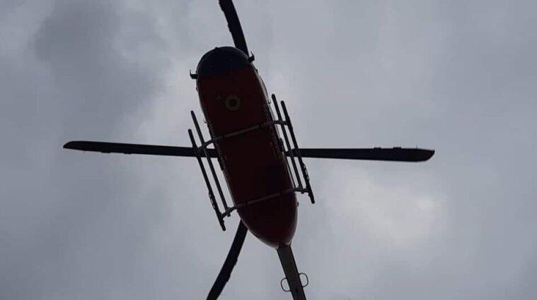 У Львівській області чоловік помер у медичному вертольоті