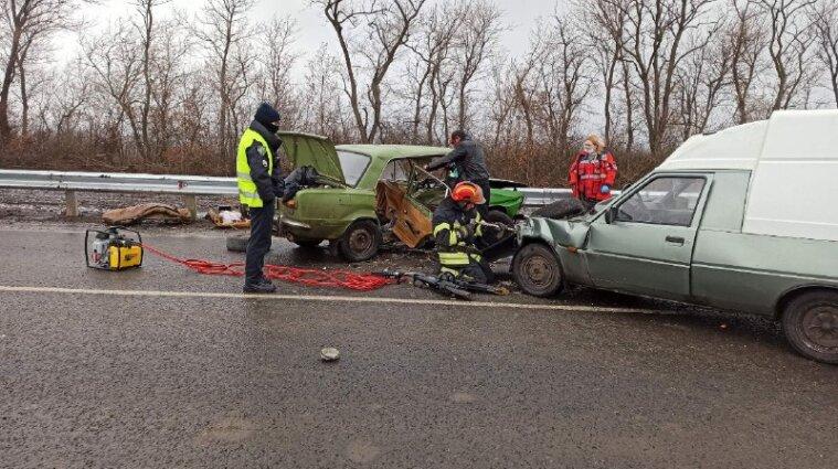 Троє дітей постраждали у ДТП в Донецькій області