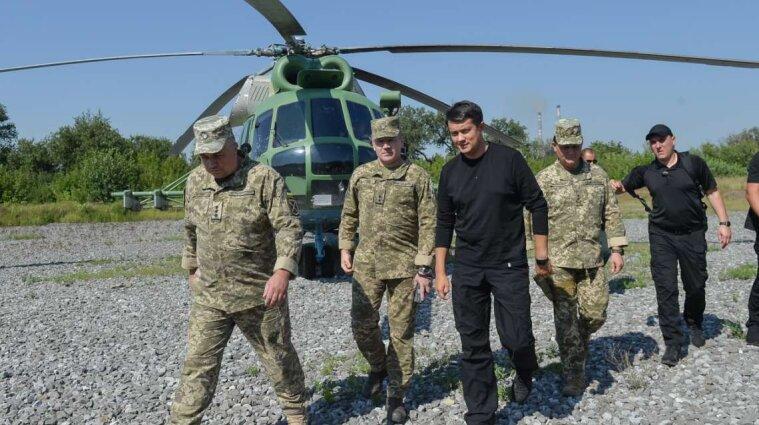 Разумков заявив про необхідність цілодобового стеження місією ОБСЄ за ситуацією на Донбасі