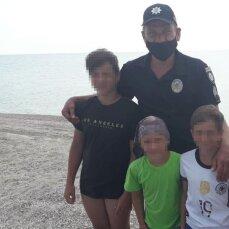 У Кирилівці трьох дітей на матраці віднесло у відкрите море