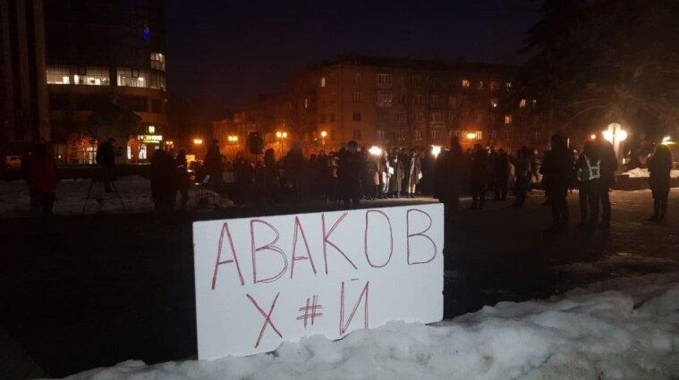 В поддержку Стерненка митингуют в 16 областях Украины, Испании, Польши и США