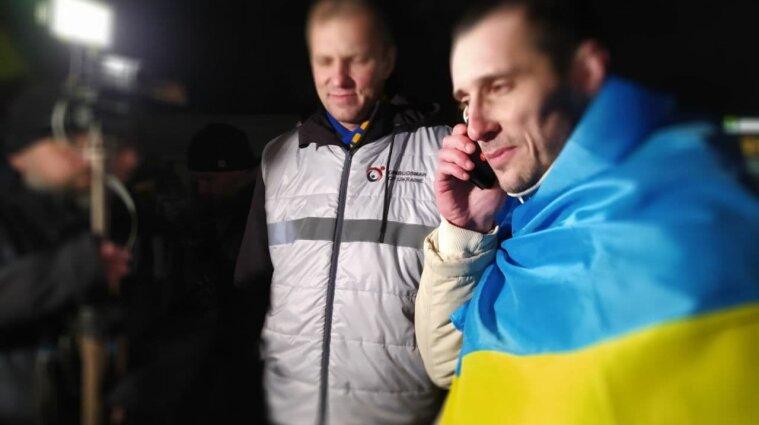 Політв'язень Кремля Шумков повернувся до України через три роки ув'язнення
