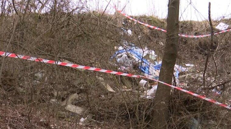У парку Львова діти знайшли частини людського тіла - відео