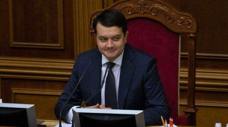 Разумков рассказал о производстве украинского COVID-вакцины