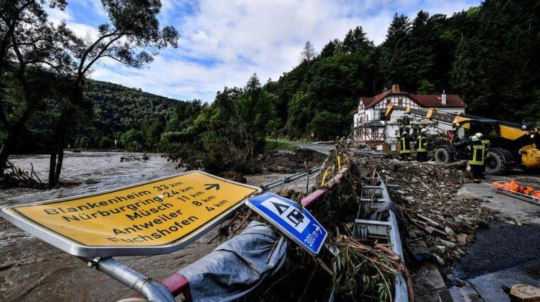 Повені в Німеччині завдали збитків транспортній системі на 2 мільярди євро