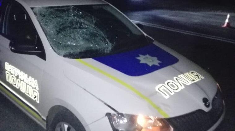 В Полтаве патрульная машина сбила насмерть пешехода