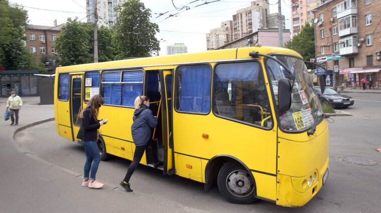 Киевские маршрутчики отказываются выходить на работу и увольняются