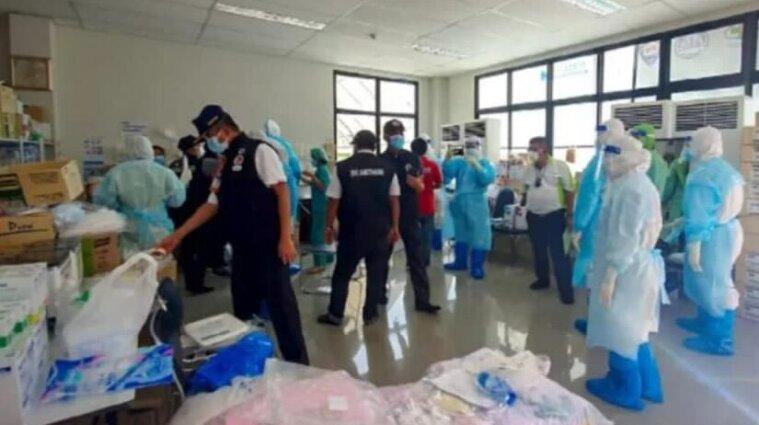 В Таиланде больные коронавирусом пациенты устроили оргию под наркотиками