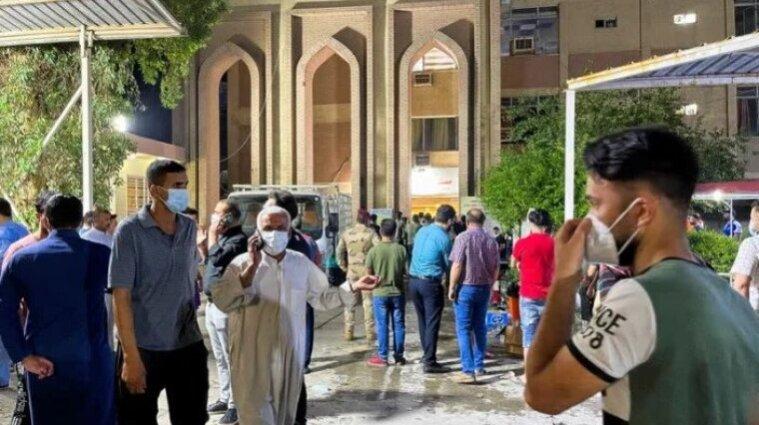 В Іраку горіла коронавірусна лікарня, загинули щонайменше 23 людини