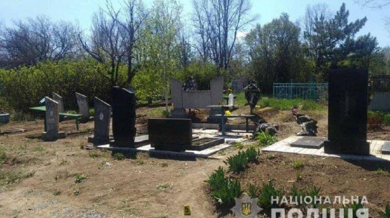 Взрыв на кладбище произошел в Донецкой области, есть погибший